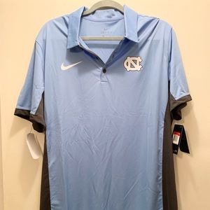 NWT UNC Nike Polo